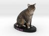Custom Cat Figurine - Chloe 3d printed