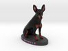 Custom Dog Figurine - ChReveille 3d printed