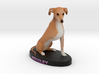 Custom Dog Figurine - Wrigley 3d printed