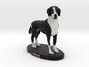 Custom Dog Figurine - Vogue 3d printed