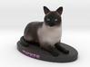 Custom cat Figurine - Tucker 3d printed
