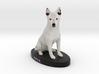 Custom Dog Figurine - Siva 3d printed