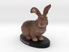 Custom Rabbit Figurine - Rascal 3d printed