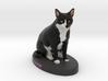 Custom Cat Figurine - Jack 3d printed