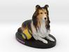 Custom Dog Figurine - Gentry 3d printed