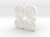 Adinkra Collection: Dwannimmen - The Strength Pend 3d printed