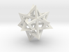 Tetrahedron 4 compound, flat faced struts 3d printed