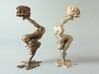 """candleholder """"shY"""" 3d printed 3D printed candleholder """"shY"""" in steel and matte bronze steeel"""