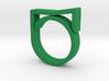Adjustable ring for men. Model 8. 3d printed