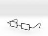 "Mrs. Beasley Glasses for 21"" Doll 3d printed"