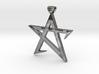 Broken Pentagram Pendant 3d printed