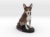 Custom Dog Figurine - Lexie 3d printed