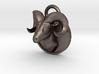 Bock-pendant hollow 3d printed