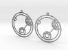 Lizzie - Earrings - Series 1 3d printed