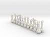 Lion Chess Big Basic 3d printed