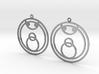 Joy - Earrings - Series 1 3d printed