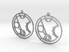 Merryn - Earrings - Series 1 3d printed