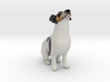 Howling Jack Russell Terrier 3d printed