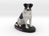 Custom Dog Figurine - Emmitt 3d printed