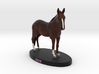 Custom Horse Figurine - Gus 3d printed
