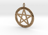 Pentacle pendant - Goddess chant 3d printed