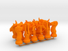 Set Chess - Timur and Tamerlane Pieces 3d printed