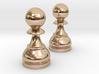 Pair Pawn Chess / Timur Pawn of Pawns 3d printed