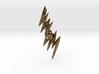 Hand of God - Zeus Thunderbolt Pendant 3d printed