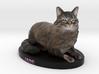 Custom Cat Figurine - Jade 3d printed