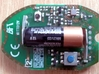 BFT Remote Cover 3d printed BFT  PCB Lower Side, setup button not accessible