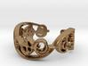 """IDIC"" Vulcan Script Ring - Cut Style 3d printed"
