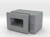 Dollhouse miniature microwave, 1:24 scale 3d printed