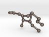 Virgo Star Constellation Keychain Keyring 3d printed