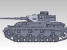 1/144 PzKpfw IV ausf.G (Early Type) 3d printed