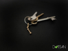 Aries Star Constellation Keychain Keyring 3d printed