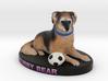 Custom Dog Figurine - Cubby 3d printed