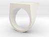 Flat Top Ring 3d printed