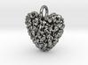365 Hearts Pendant - Medium  3d printed