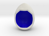 LuminOrb 1.3 - Egg Stand 3d printed Shapeways render of Egg Display Stand for COMPASSION in Full Color Sandstone