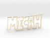 Micah Spark Tag 3d printed