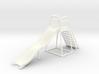 Children's Wave Slide, Dollhouse Miniature (1:48) 3d printed