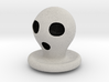 Halloween Character Hollowed Figurine: Ghosty 3d printed