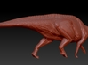 1/40 Parasaurolophus - Walking Alternate 3d printed zbrush render
