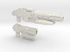 """SENTINEL"" Transformers Weapons Set (5mm post) 3d printed"