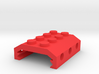 Building Block Picatinny Adapter 3d printed