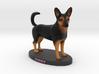 Custom Dog Figurine - Kirby 3d printed