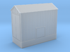 Clay Spur Unloading Building 7 Z Scale 3d printed Unloading Shed Z scale