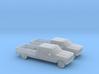 1/160 2X 80-86 Ford F Series Crew Cab 3d printed