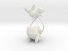 Eevee and Bulbasaur 3d printed