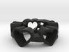 Love Lines Ring Size 7.25 3d printed